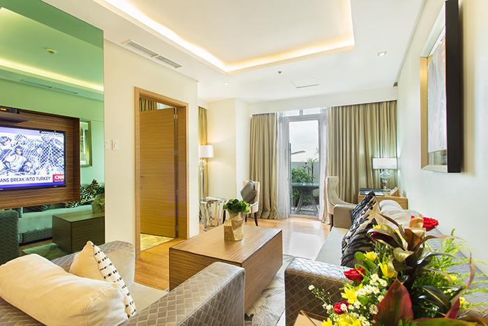 One Bedroom Garden Suite Greenleaf Hotel Gensan